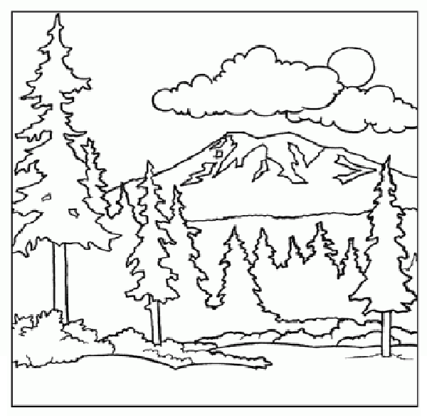 mountain pictures to color mountain pictures to color mountain pictures to color