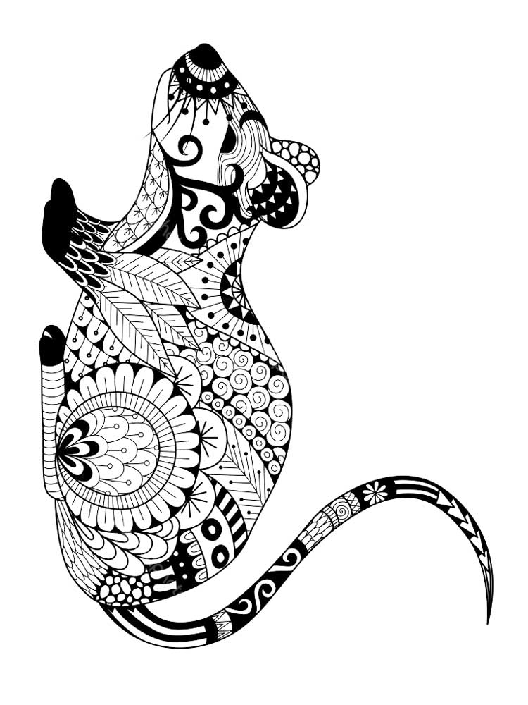 mouse coloring page free mouse coloring pages for adults printable to page mouse coloring