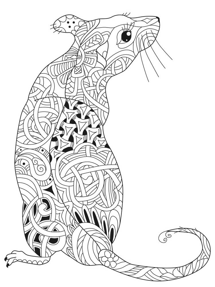 mouse colouring free mouse coloring pages for adults printable to colouring mouse
