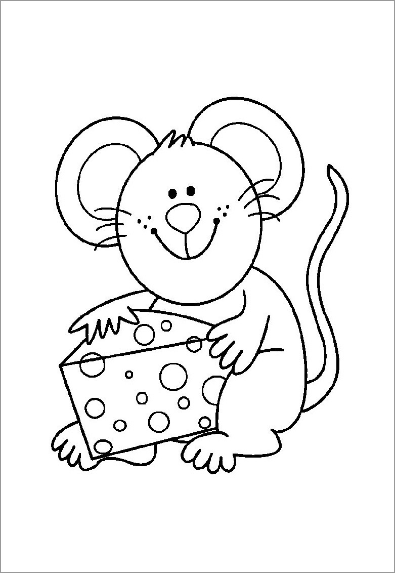 mouse picture for coloring cute colorable mouse free clip art mouse picture coloring for