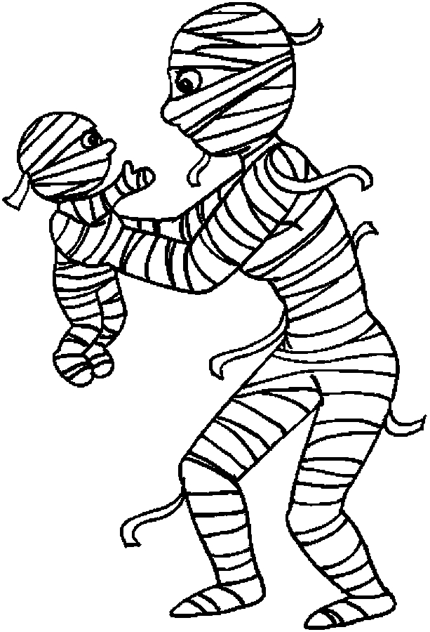 mummy coloring page 25 free mummy coloring pages printable mummy coloring page