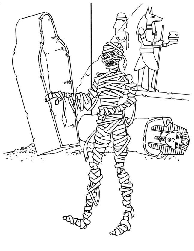 mummy coloring page printable mummy coloring pages for kids cool2bkids mummy page coloring