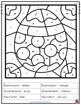 music note coloring pages pdf easter music coloring sheets 26 music notes and rests pdf pages note music coloring