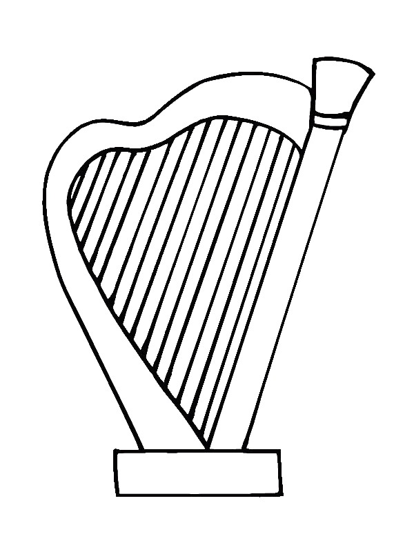 musical instrument coloring pages musical instrument coloring pages download and print instrument pages coloring musical