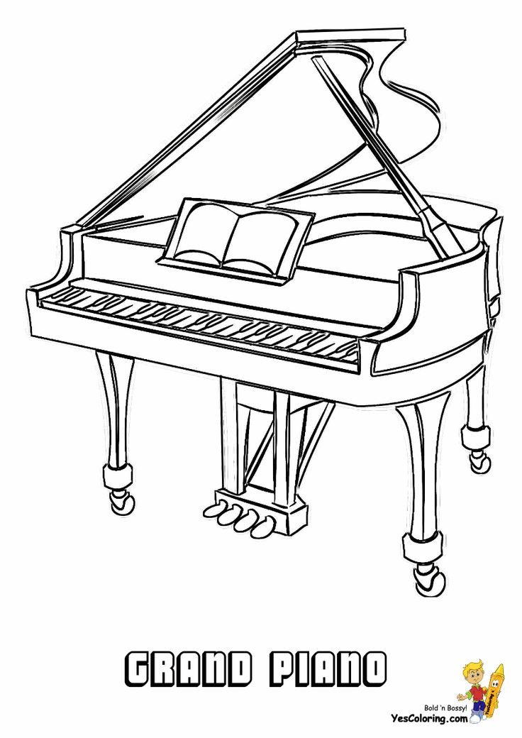 musical instrument coloring pages musical instruments coloring pages to download and print musical instrument pages coloring