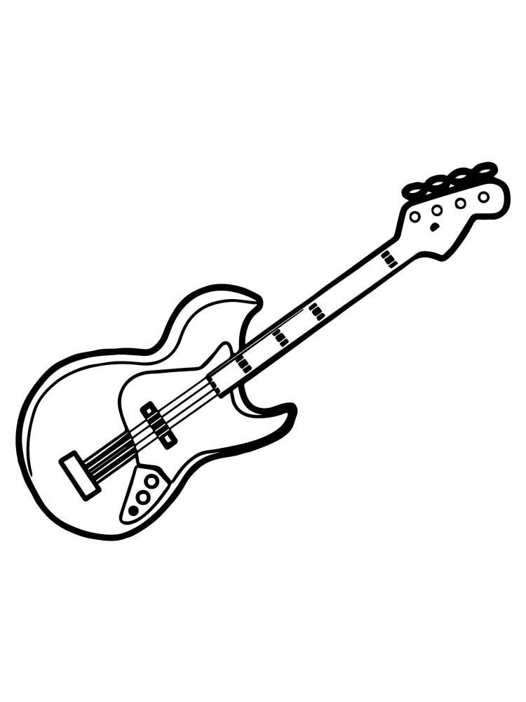 musical instrument coloring pages musical instruments kids coloring pages free colouring musical instrument coloring pages