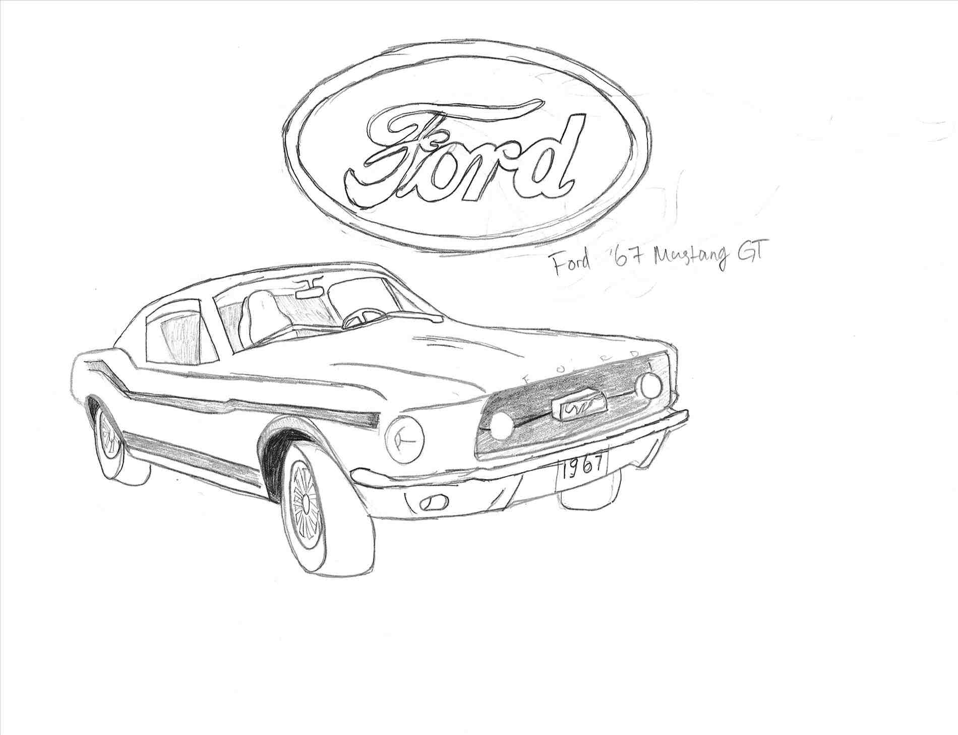 mustang car outline ford mustang drawing at getdrawings free download outline car mustang