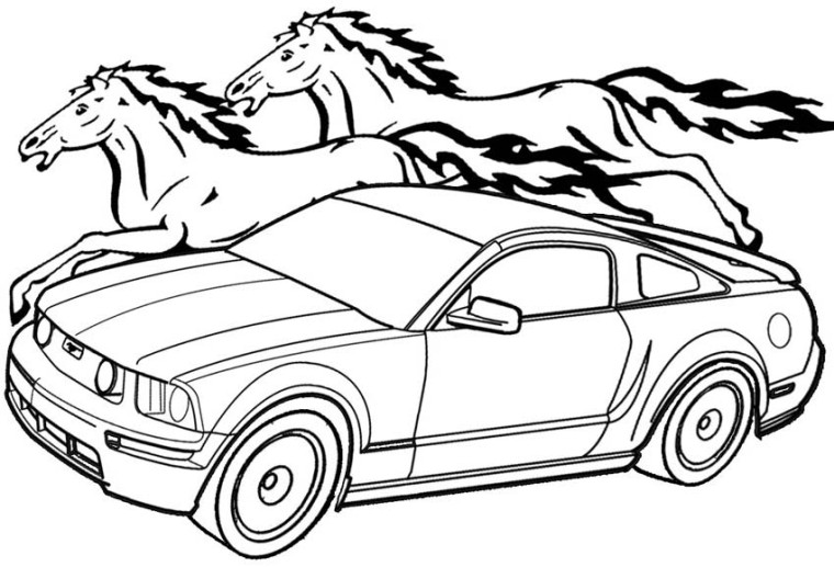 mustang coloring page 1969 mustang coloring pages car printable coloring pages mustang coloring page