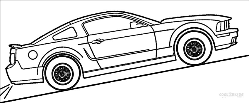 mustang coloring page coloring pages of ford mustangs collection free coloring mustang page coloring
