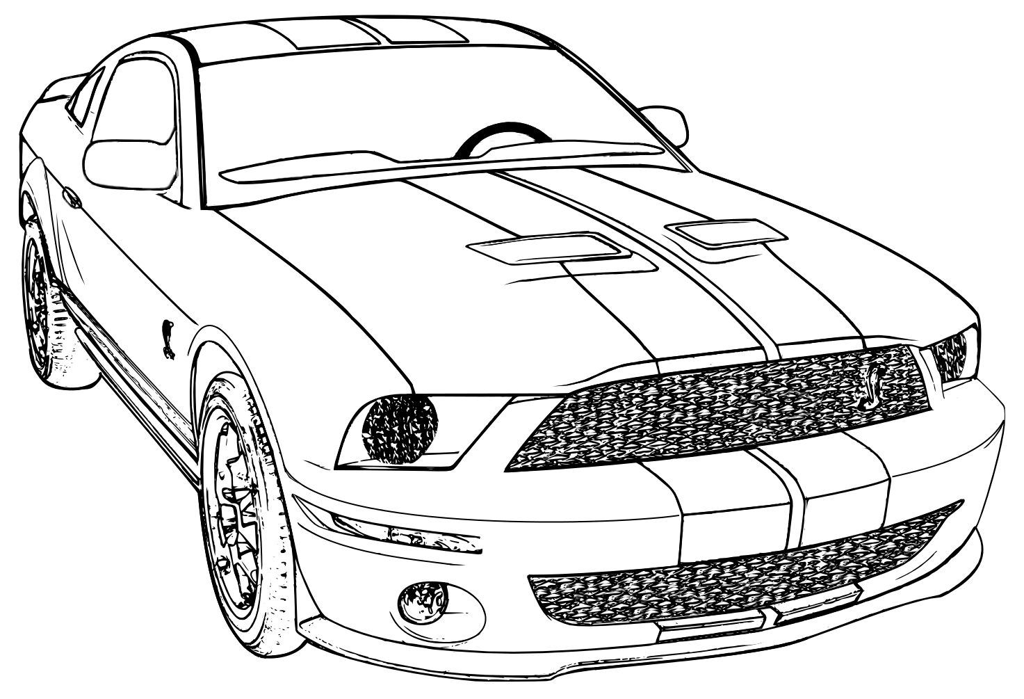 mustang coloring page ford mustang 2015 coloring page free printable coloring page coloring mustang