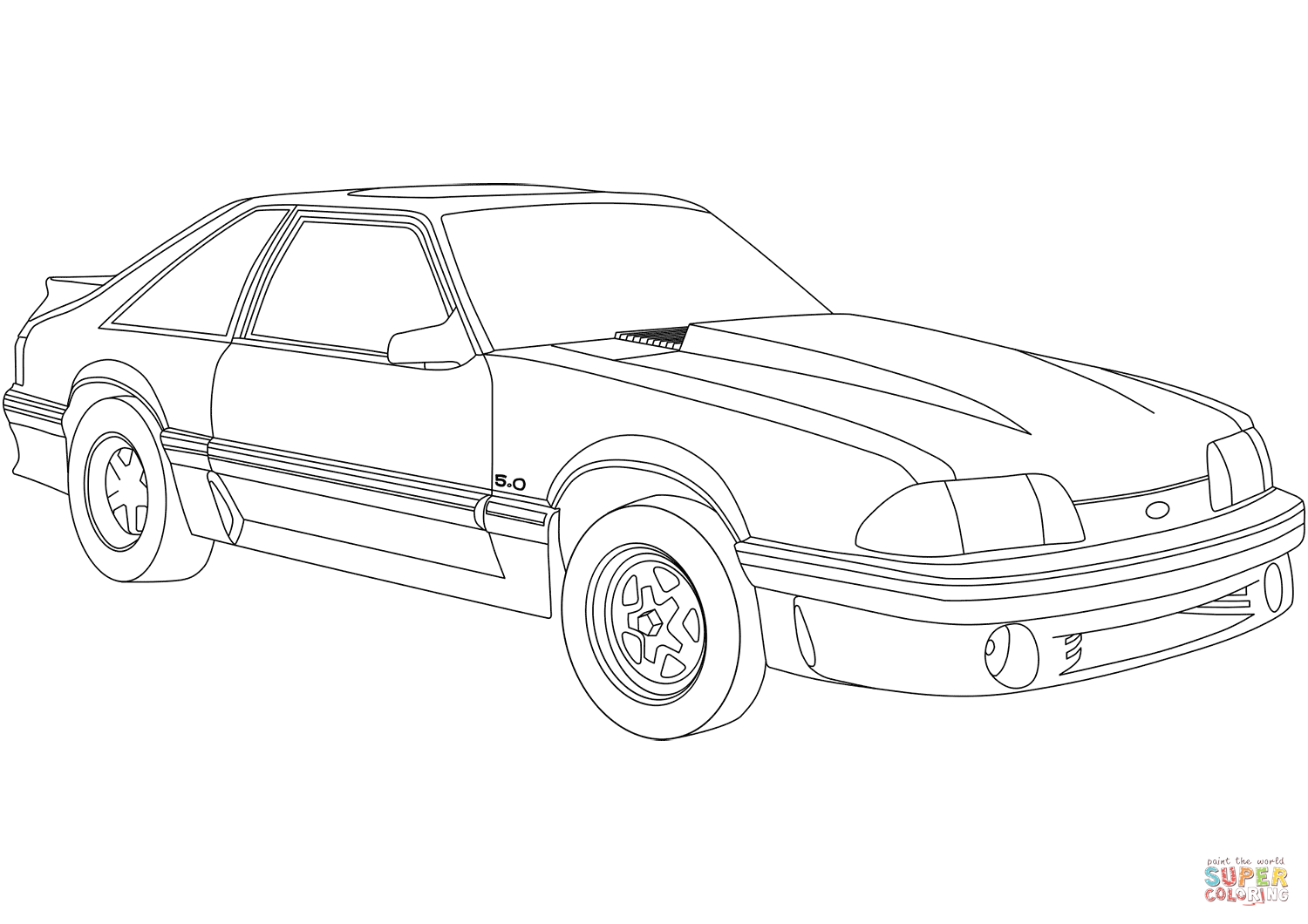 mustang coloring page ford mustang coloring pages coloring pages to download coloring mustang page