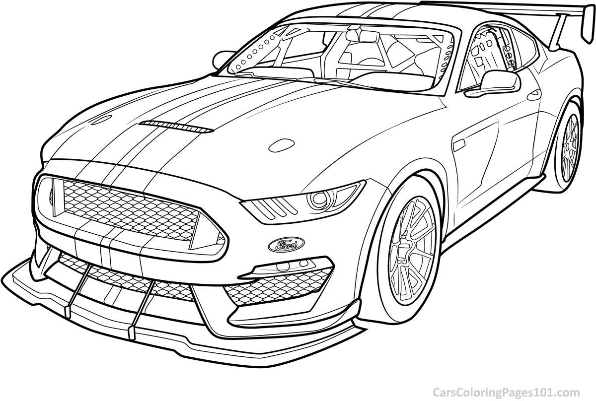 mustang coloring page ford mustang gt car coloring pages best place to color page coloring mustang