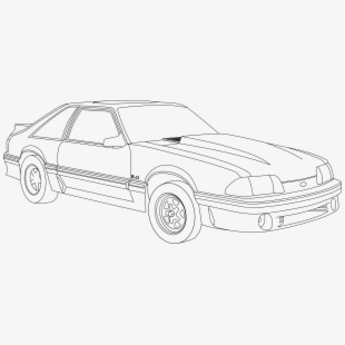 mustang drawing outline 67 mustang drawing at getdrawings free download outline mustang drawing