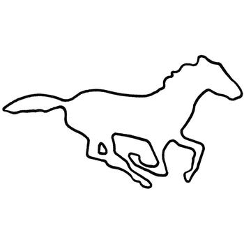mustang drawing outline ford mustang gt by joelcomics on deviantart mustang outline drawing