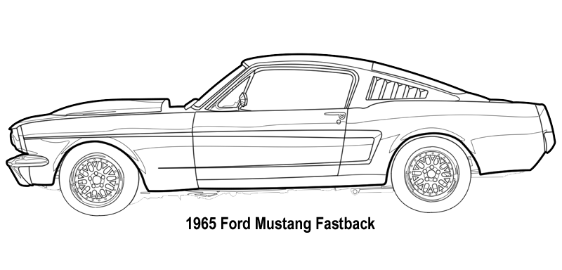 mustang drawing outline ford mustang gt car coloring pages best place to color outline drawing mustang