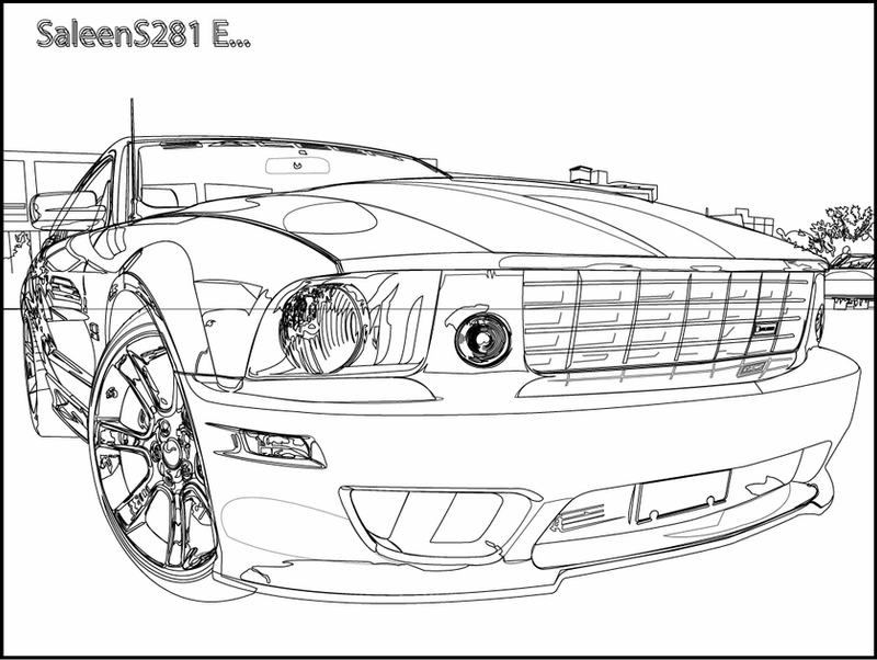 mustang drawing outline ford mustang gt drawing at getdrawings free download drawing mustang outline