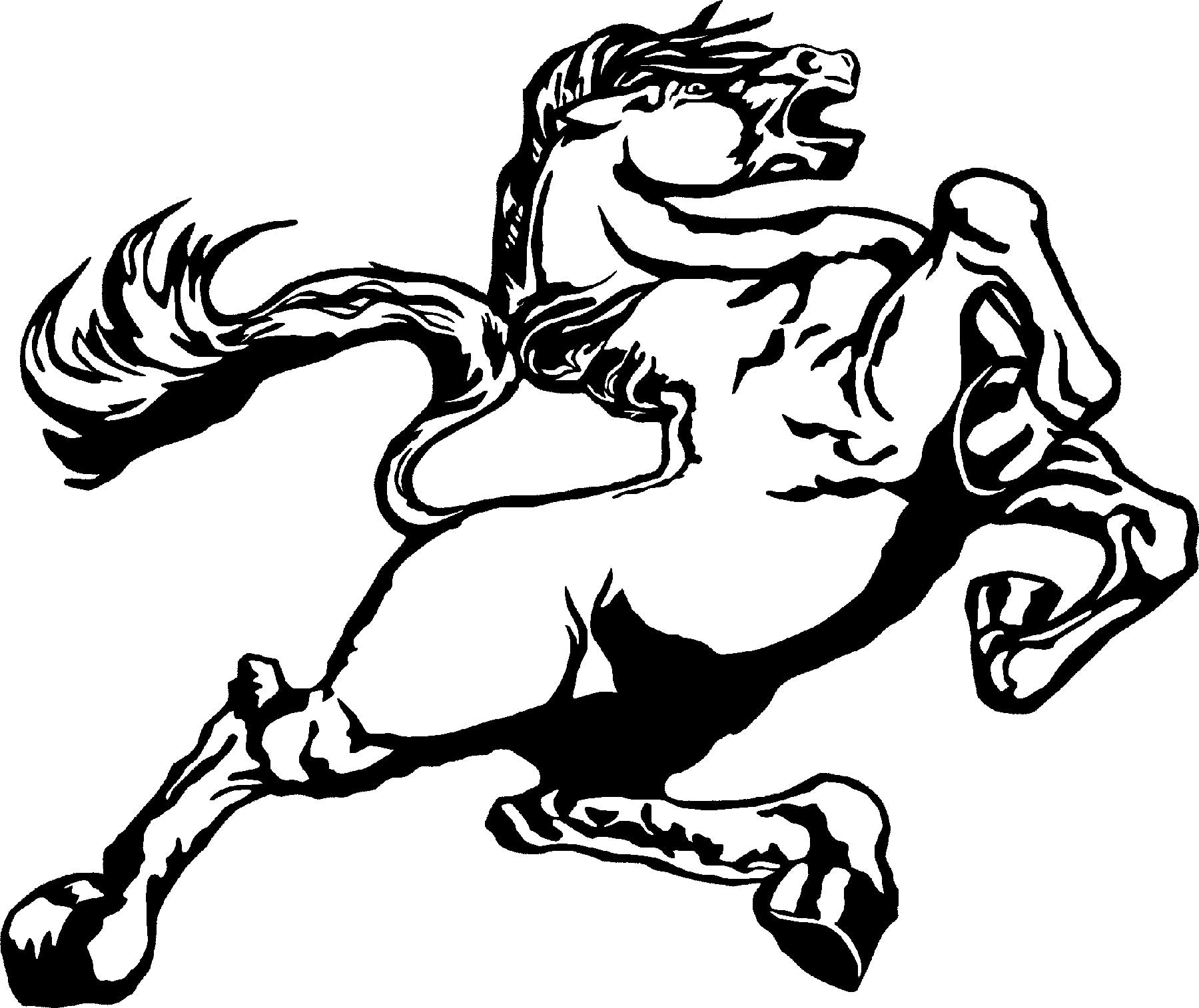 mustang drawing outline mustang logo drawing easy jumping horse outline outline drawing mustang