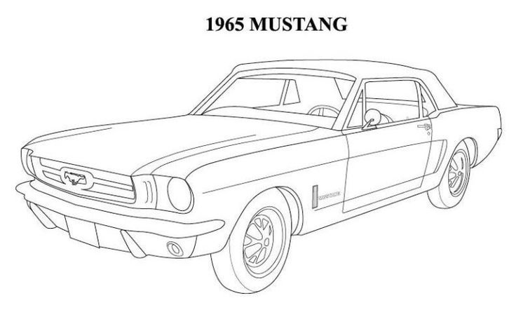 mustang drawing outline mustang outline drawing at getdrawings free download mustang drawing outline