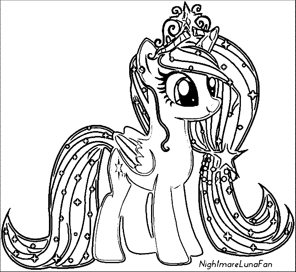 my little pony friendship is magic coloring pages luna learn how to draw princess luna from my little pony my is magic pony coloring little friendship pages luna