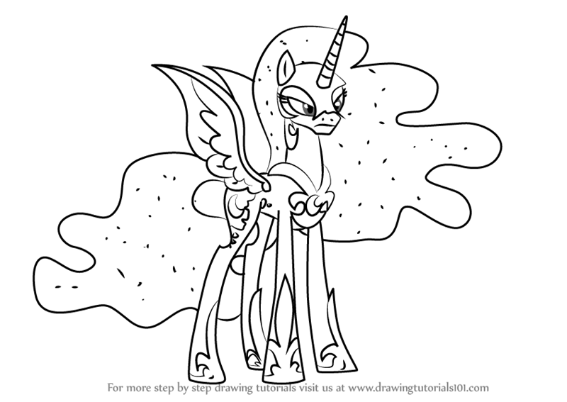 my little pony friendship is magic coloring pages luna my little pony coloring pages friendship is magic team little luna friendship pages pony my is magic coloring