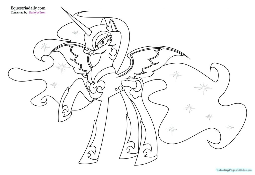 my little pony friendship is magic coloring pages luna my little pony friendship is magic coloring pages luna at pony luna coloring friendship pages is magic little my