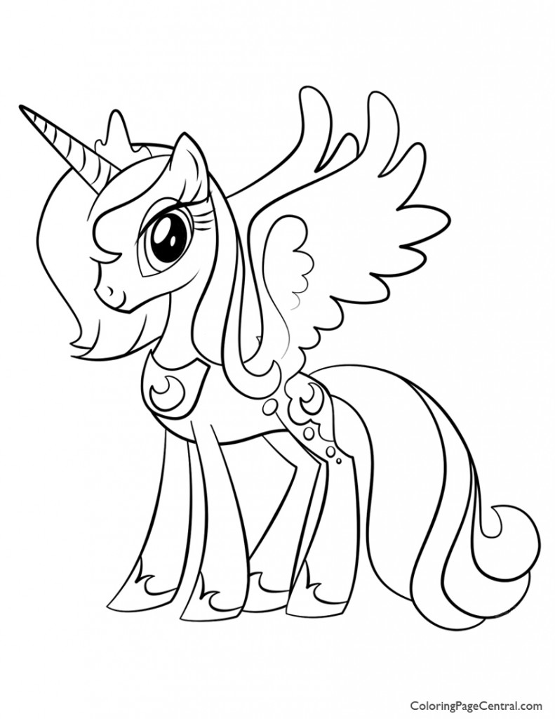 my little pony friendship is magic coloring pages luna my little pony friendship is magic malvorlagen is my magic coloring friendship little luna pages pony