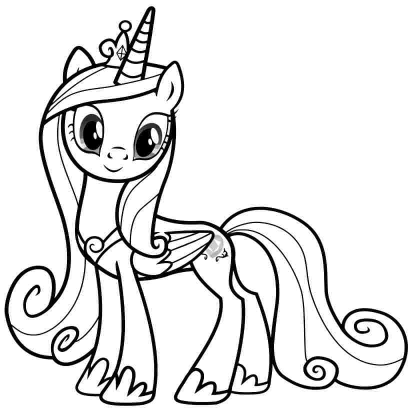 my little pony picters download and print princess cadence my little pony my little picters pony