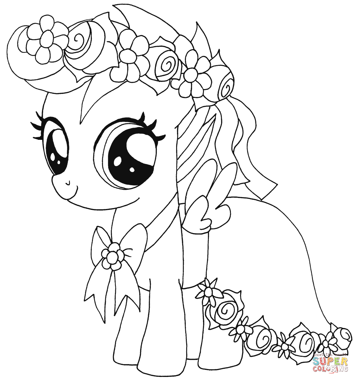 my little pony print outs my little pony scootaloo coloring page free printable my print outs little pony