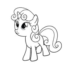 my little pony sweetie belle top 55 39my little pony39 coloring pages your toddler will little sweetie belle my pony