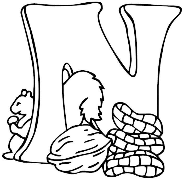 n coloring sheets letter n coloring pages preschool coloring home sheets coloring n