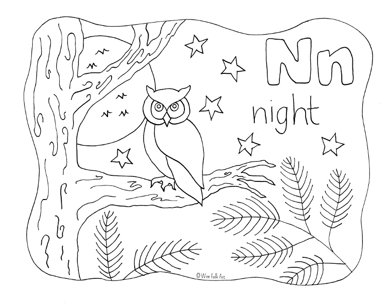 n is for coloring page nature alphabet coloring page letter n homeschool companion is for page coloring n
