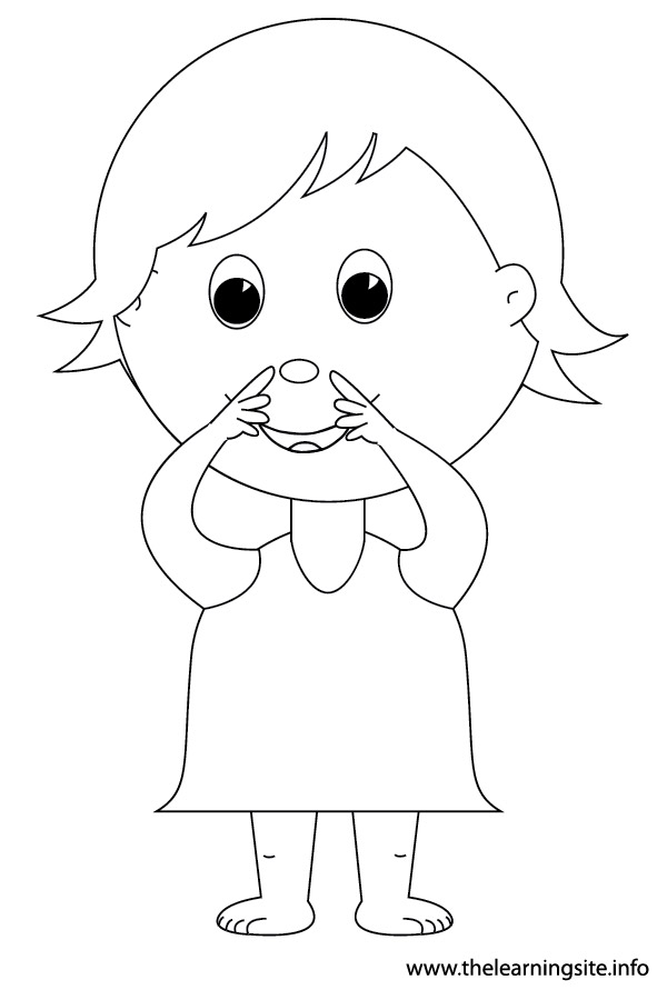 n is for nose coloring page nose 1 the learning site for coloring is nose n page