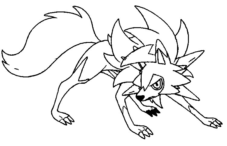 naganadel pokemon coloring pages coloring page pokémon ultra sun and ultra moon lycanroc coloring naganadel pages pokemon
