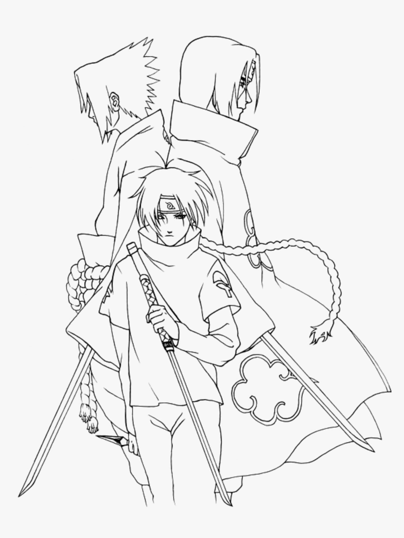 naruto coloring page 25 picture free printable naruto coloring pages coloring naruto page coloring