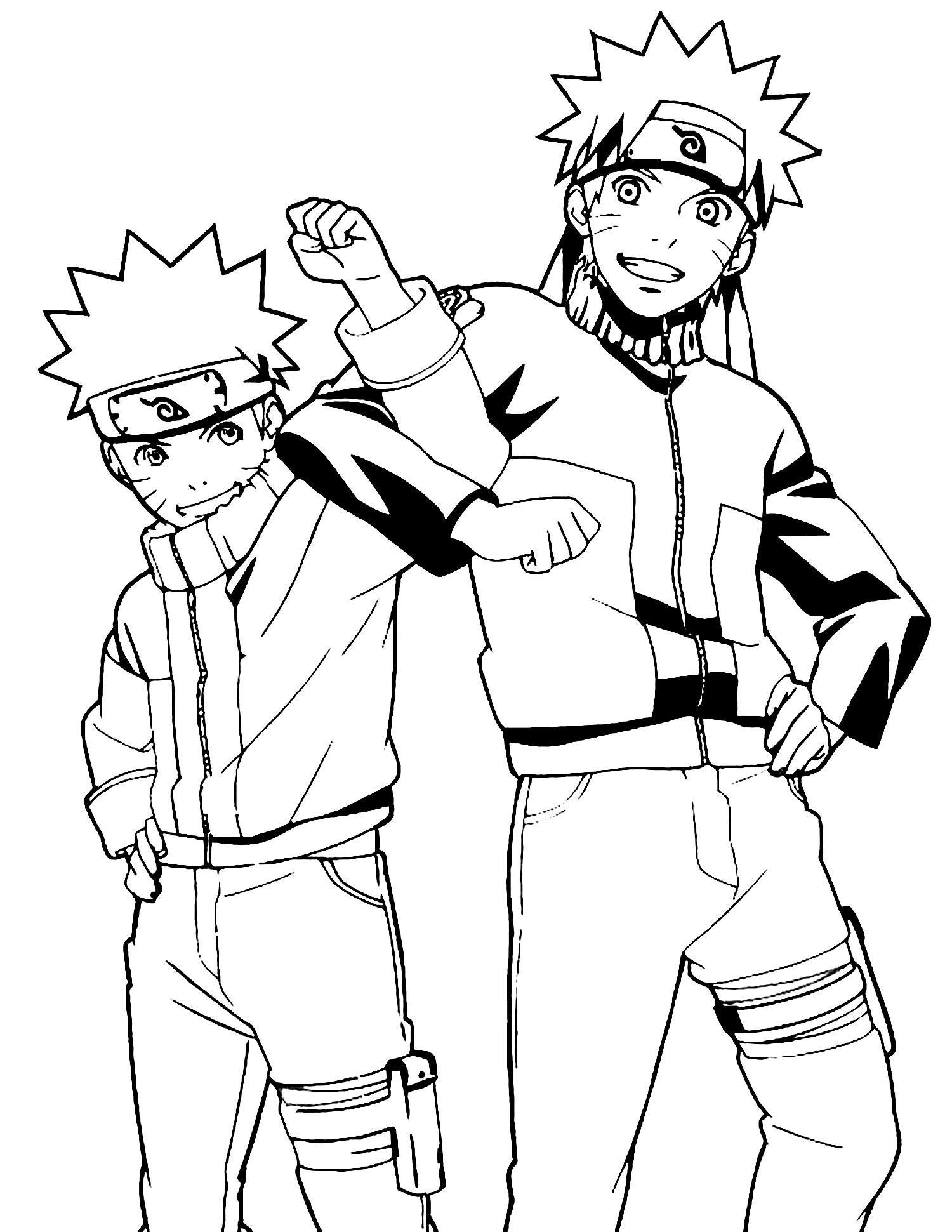 naruto coloring page naruto shippuden coloring pages to download and print for free coloring naruto page 1 1