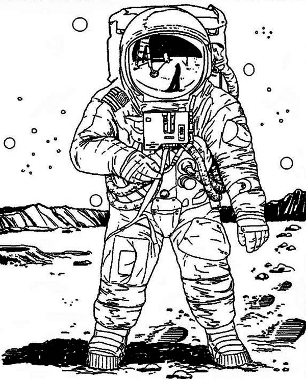 nasa astronaut coloring pages astronaut in space coloring page print color fun astronaut nasa pages coloring