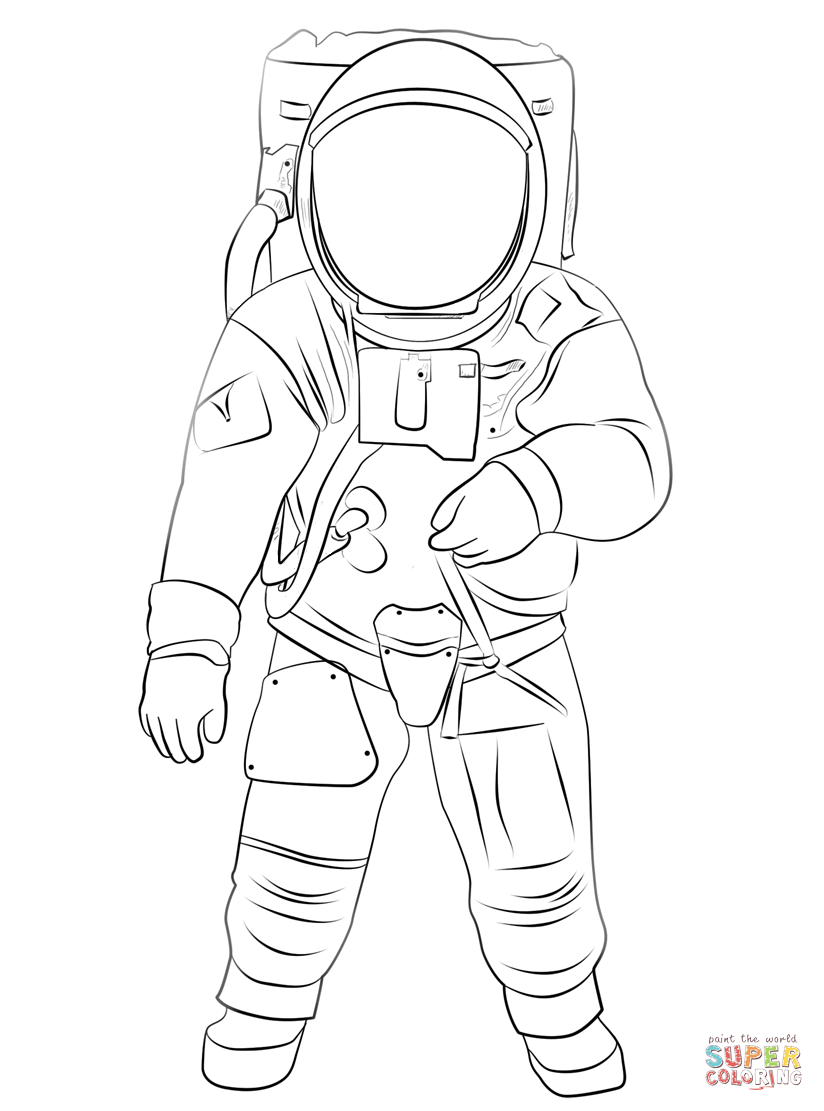 nasa astronaut coloring pages buzz aldrin on the moon coloring page free printable pages coloring astronaut nasa
