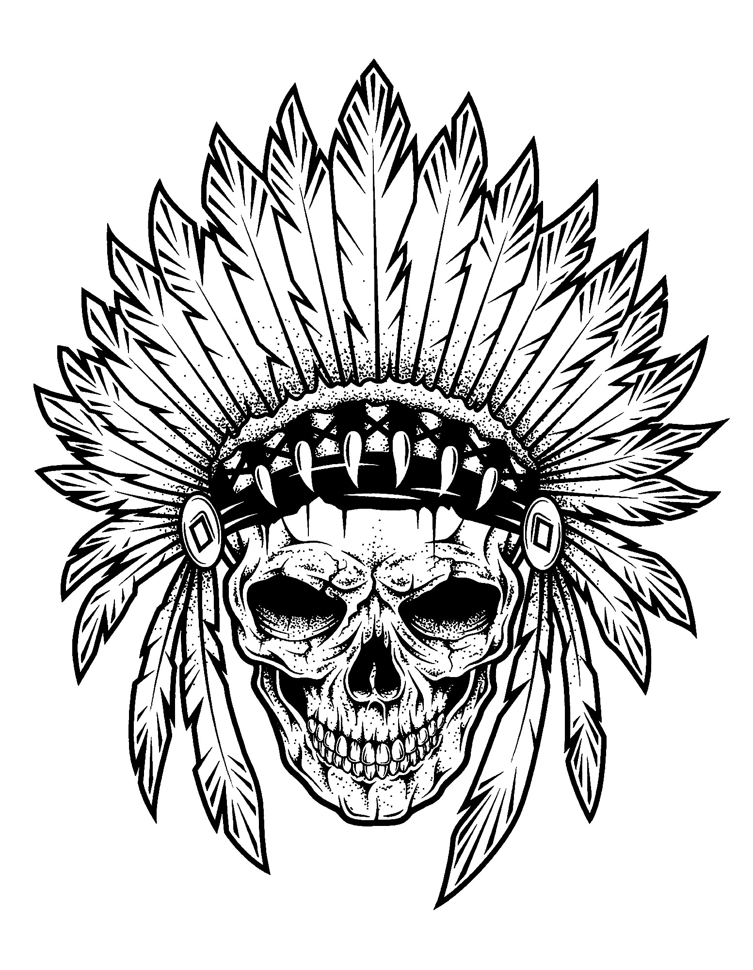 native art coloring pages indian head coloring page at getcoloringscom free art native coloring pages