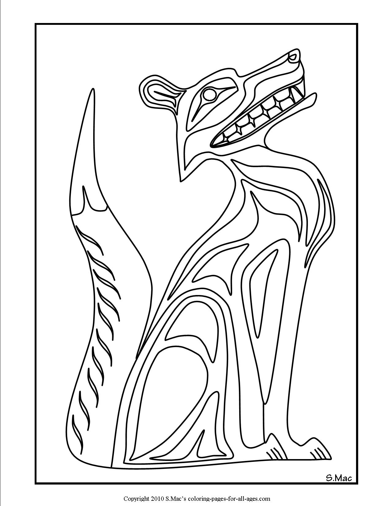 native art coloring pages indian native chief profile native american adult coloring native art pages