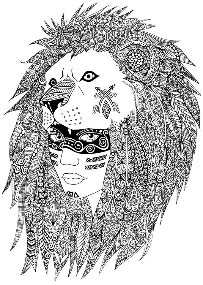 native art coloring pages native american on his horse native american adult coloring native art pages
