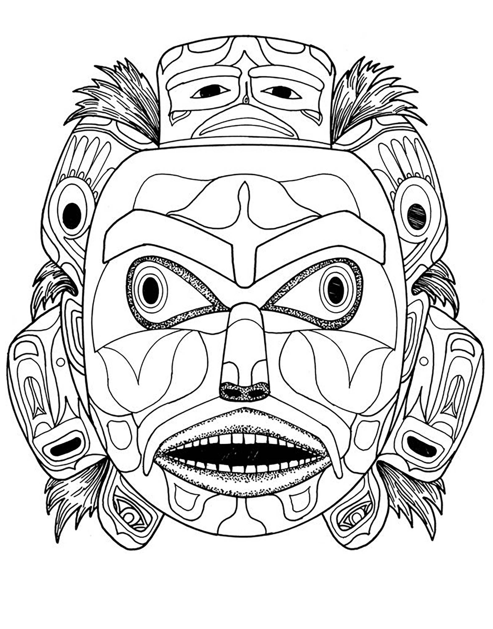 native art coloring pages pacific northwest native american art coloring pages s pages coloring native art