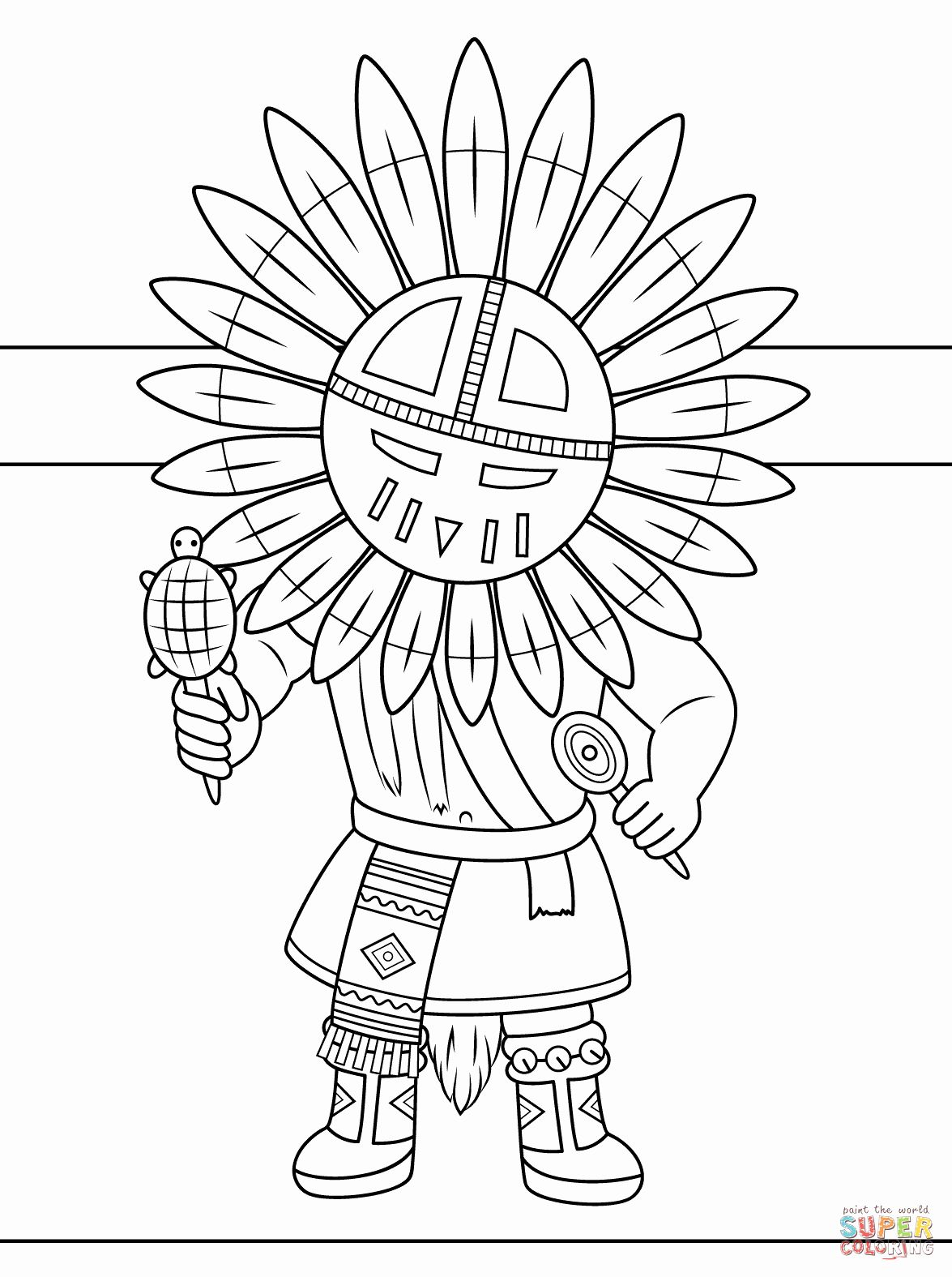 native art coloring pages totempole yakari color page cartoon characters coloring native art pages coloring