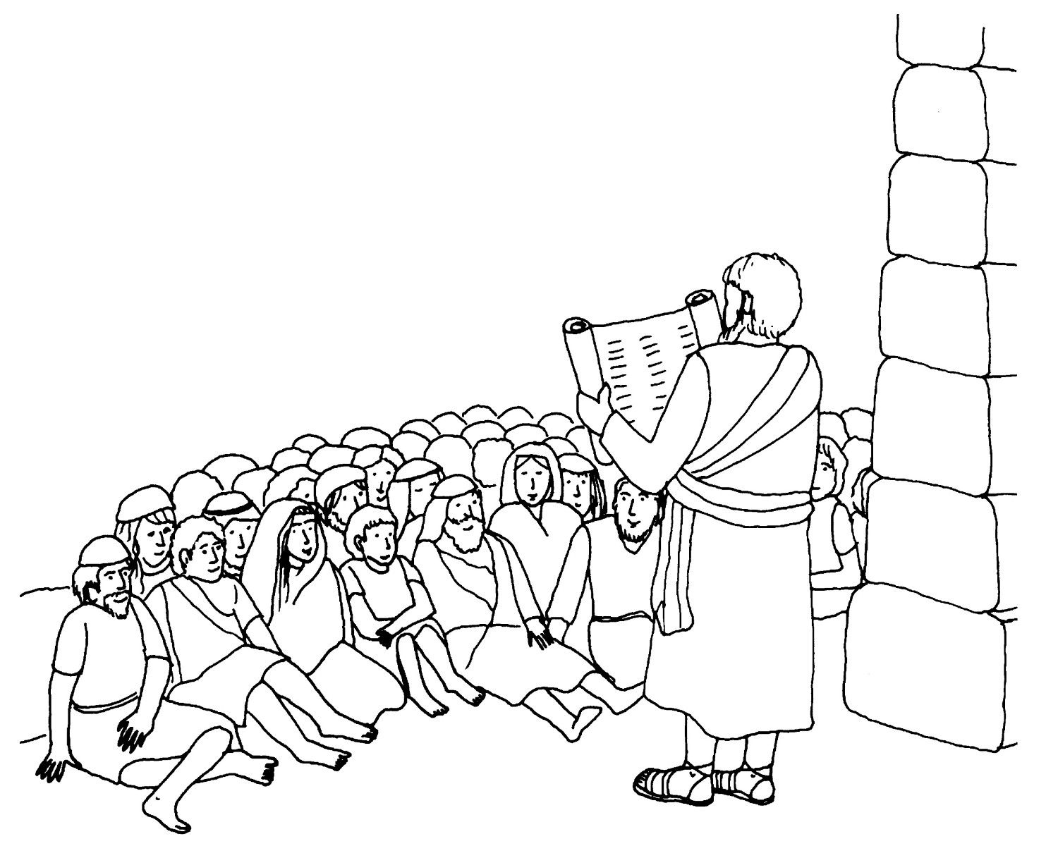 nehemiah coloring page 30 best bible prophets in the ot images on pinterest page nehemiah coloring