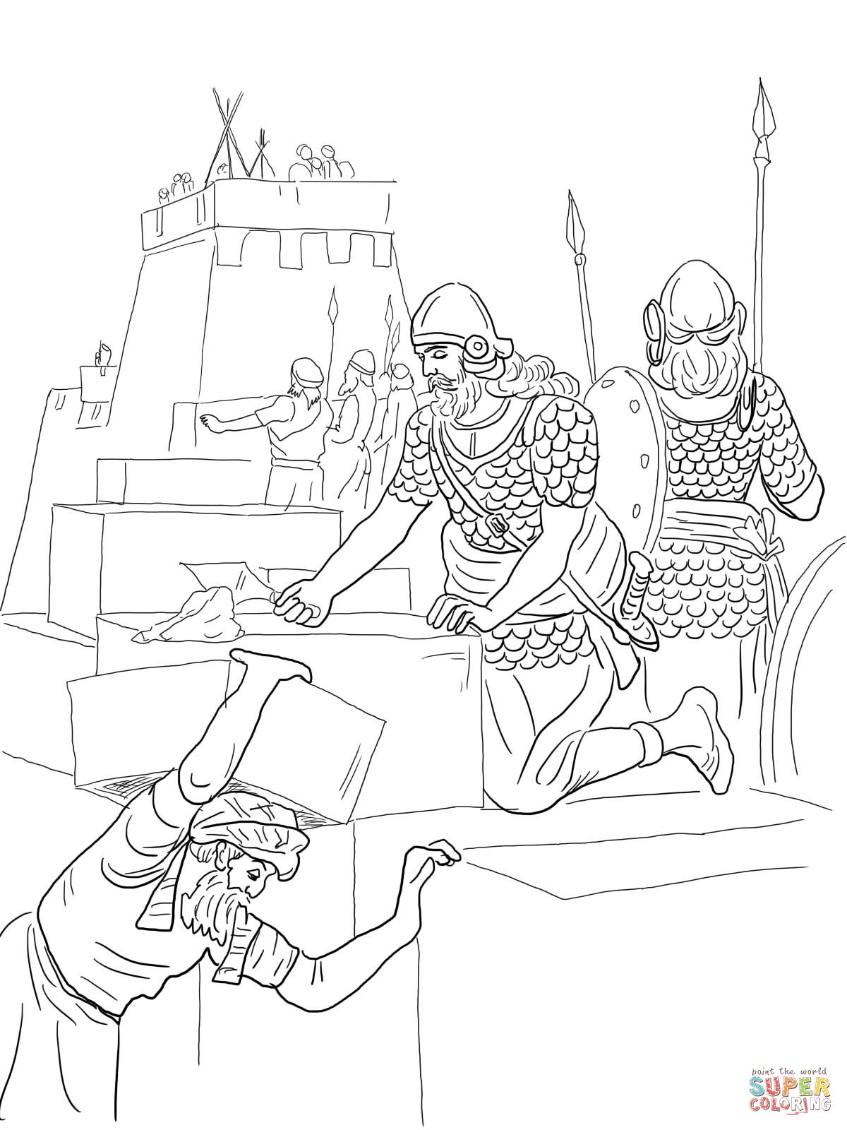 nehemiah coloring page nehemiah bible coloring pages toddler sunday school nehemiah coloring page