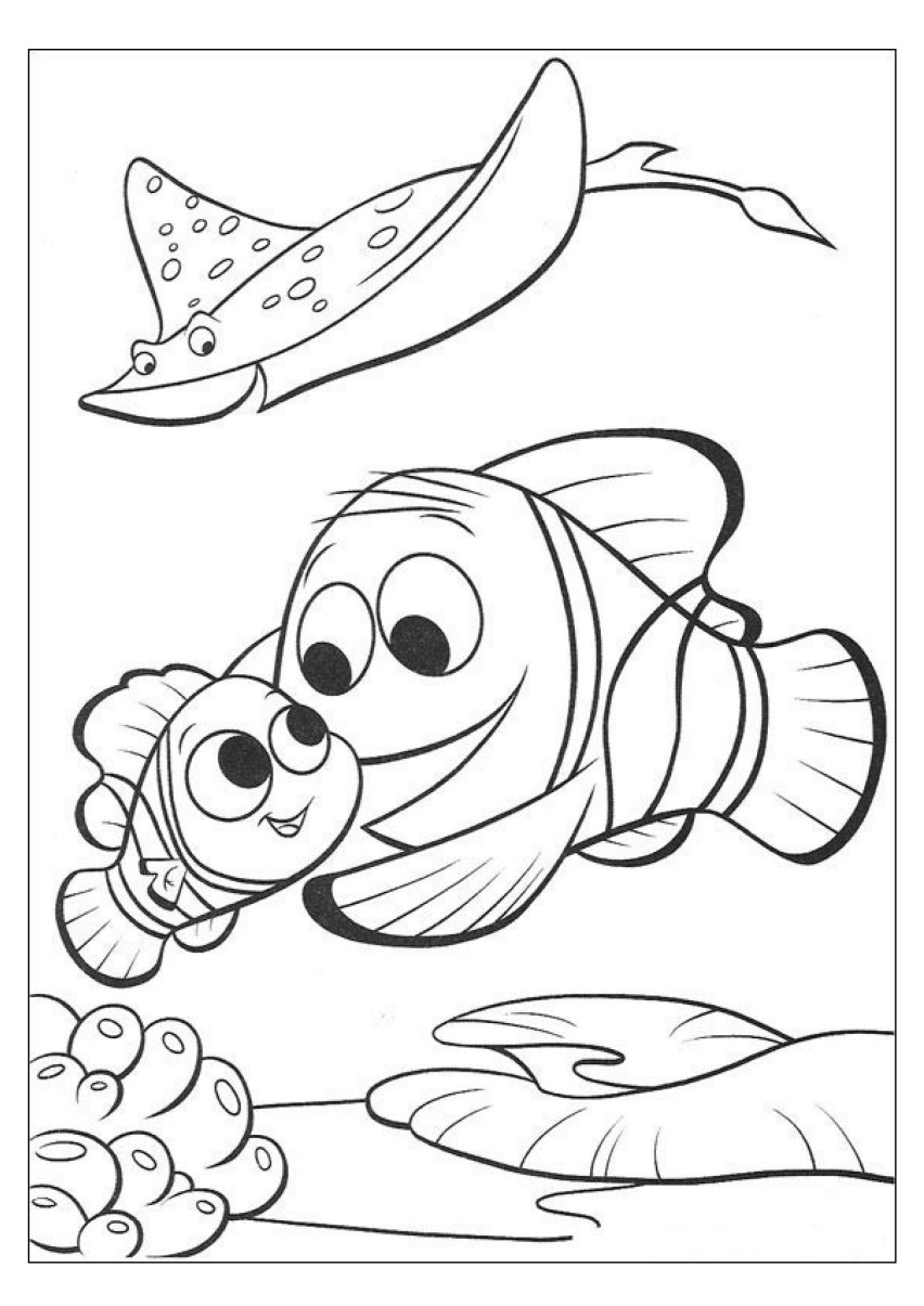 nemo coloring finding nemo coloring pages nemo coloring