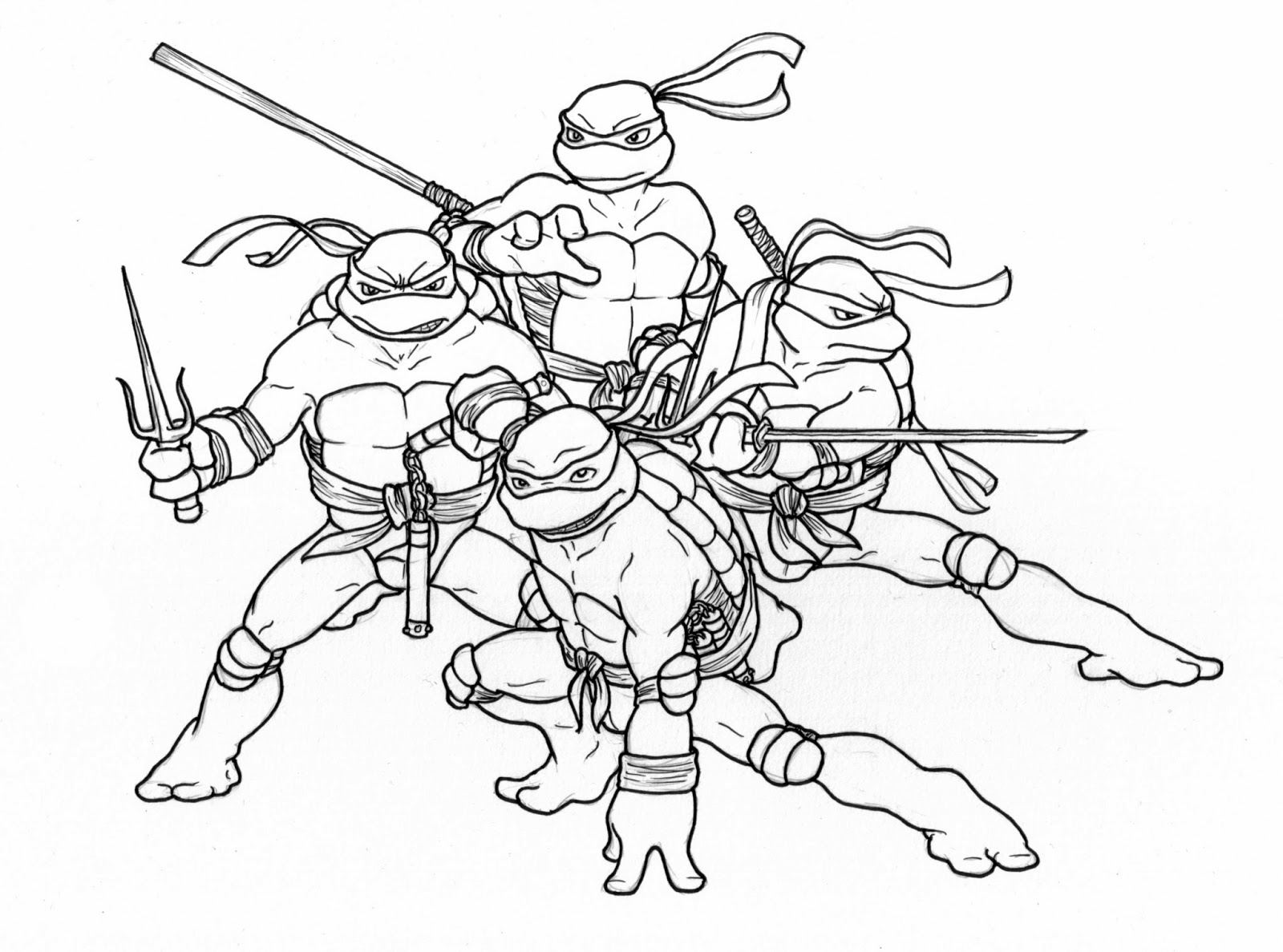 ninja turtle coloring pages for kids easy teenage mutant ninja turtle coloring pages coloring coloring ninja turtle kids for pages