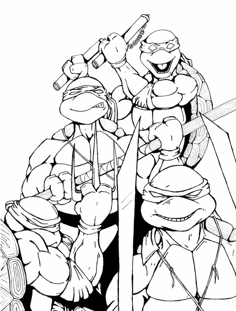 ninja turtle coloring pages for kids print download the attractive ninja coloring pages for pages for turtle kids coloring ninja