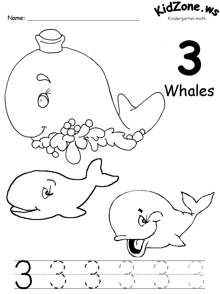 number 3 coloring pages preschool 73 best free number printables for preschool k images on coloring preschool number pages 3