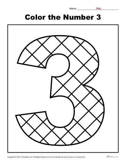 number 3 coloring pages preschool color the number 3 preschool number worksheets number pages preschool 3 coloring