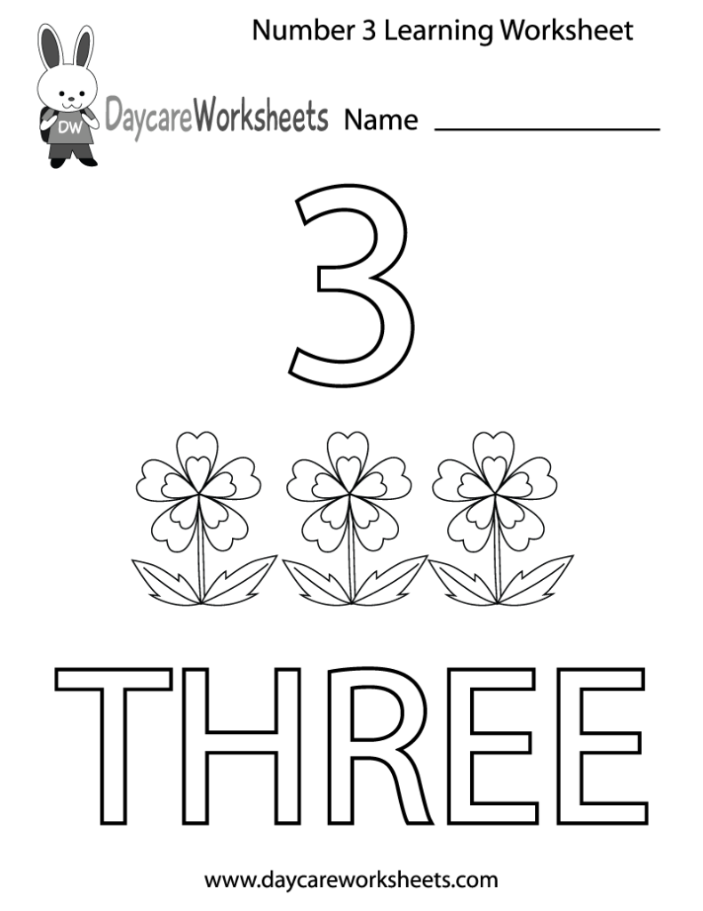 number 3 coloring pages preschool coloring pages preschool number three learning worksheet 3 coloring preschool pages number
